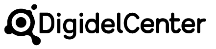 DigidelCenter-logo, svart