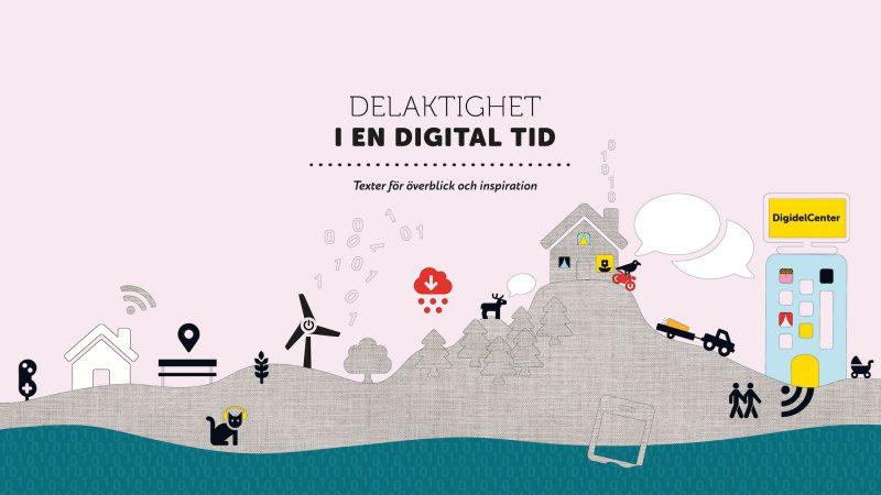 Omslag till publikationen delaktighet i en digital tid